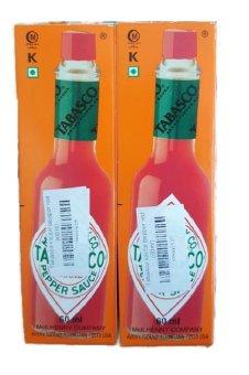 Bộ 2 Chai Sốt Ớt Đỏ Tabasco Pepper Sauce 60Ml