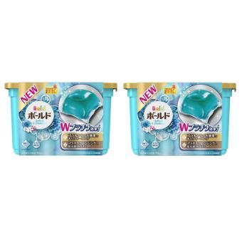 Bộ 2 Hộp Viên Giặt Xả 2 Trong 1 Gel Ball Xanh Nhật Bản