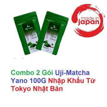 Bộ Bột trà xanh Uji Matcha Yano (2 Gói)