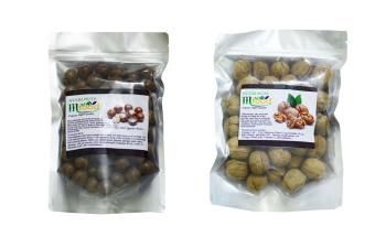 Bộ 500g hạt macca, 500g quả óc chó nhập khẩu Mỹ MFood