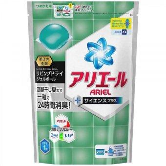 Túi 24 viên nước giặt xả diệt khuẩn Ariel Nhật Bản