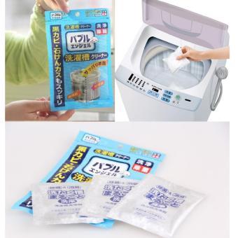 Bộ 3 Túi Bột tẩy lồng máy giặt Nhật Bản- GocgiadinhVN