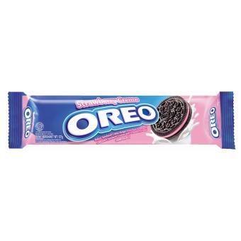 Bánh quy Oreo kem Dâu 137gr