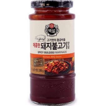 Sốt BBQ Thịt Heo Bulgogi Marinade Beksul Hàn Quốc đặc biệt lọ 290g