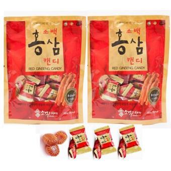 Bộ 2 Gói Kẹo Sâm Sobaek Hàn Quốc 200g/gói