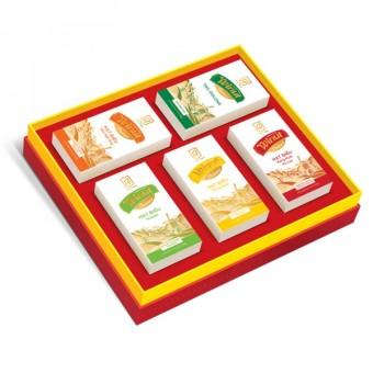Bộ 5 hộp quà tặng hạt điều Winut