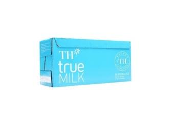 Bộ 12 hộp sữa tươi tiệt trùng TH True Milk nguyên chất 1L
