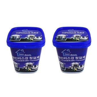 Bộ 2 hộp Kem đa năng tẩy xoong nồi và đồ gia dụng Hàn Quốc