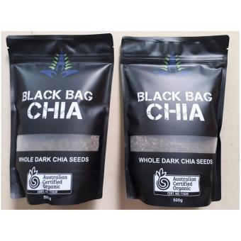 Hạt Chia Úc BLACK BAG CHIA Bộ 2 túi 500g