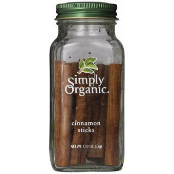 Quế sạch dạng thanh Simply Organic 32 g