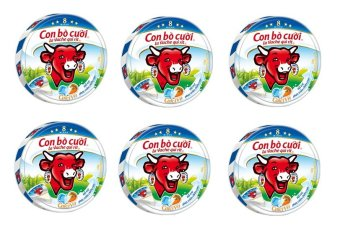 Mua Bộ 6 Hộp Phô mai con bò cười 8 miếng x 6 hộp giá tốt nhất