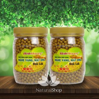 Bộ 2 hủ viên nghệ vàng mật ong Dak Lak 200g