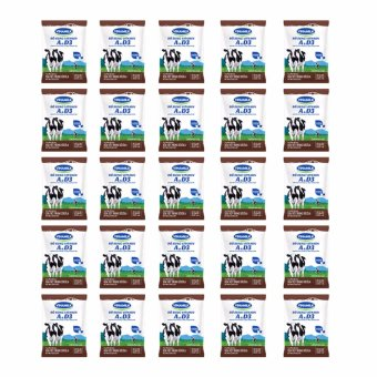 Bộ 25 Bịch Sữa tiệt trùng Vinamilk sôcôla 220ml
