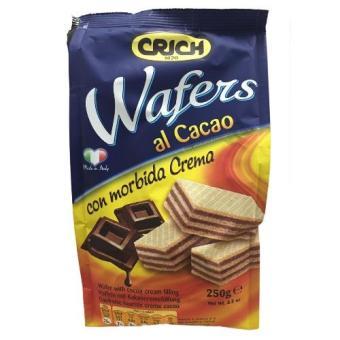 Bánh xốp crich vị cacao 250gr
