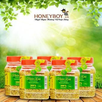 Combo 5 Phấn hoa thiên nhiên Honeyboy 100g
