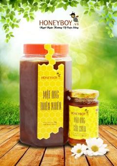 Bộ Mật ong thiên nhiên 1Kg và Mật ong sữa chúa 100ml