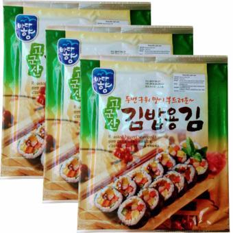 3 Rong Biển(1goi X 10 miếng) Sấy Khô nhập khẩu từ Hàn Quốc, chề biến được nhiều món ăn ngon