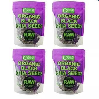 Bộ 4 Gói Hạt Chia Absolute Organic 250g (Nhập Úc)