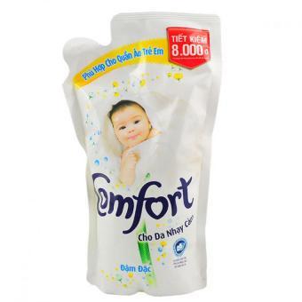 Nước xả Vải Comfort đậm đặc cho da nhạy cảm dạng túi 800ml
