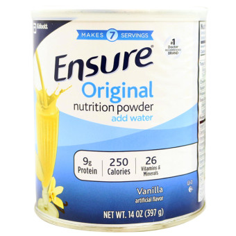 Sữa bột Ensure Original Nutrition Powder add water 397g