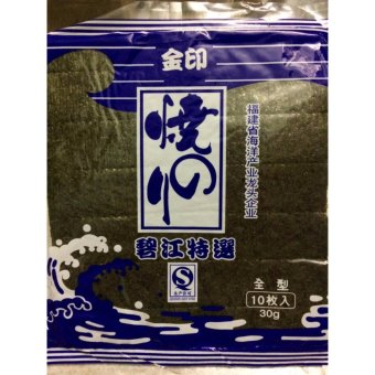02 Gói Rong Biển Cuộn Cơm Hàn Quốc Nhập Khẩu (10 lá x 1 gói)