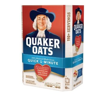 Yến mạch Quaker Oats 1 minutes (dạng cán vỡ) 4.5kg
