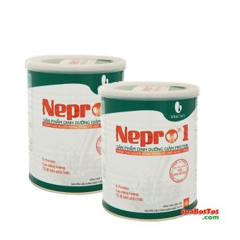 Bộ 2 hộp Sữa Nepro số 1 900g dành cho người bệnh thận