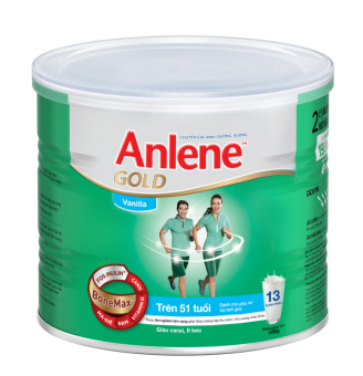 Sữa bột Anlene Gold Bonemax Vanilla 400g (Dạng lon)