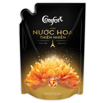 Nước xả vải hương nước hoa Comfort Sophia 1.6L (Dạng túi)