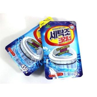 Bộ 2 gói bột tẩy vệ sinh lồng máy giặt SANDOKKABI siêu sạch ( Lồng ngang + Đứng )
