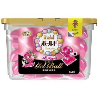 Hộp 18 Viên Nước Giặt Và Xả Gel Ball Hồng – Sản Xuất Tại Nhật Bản