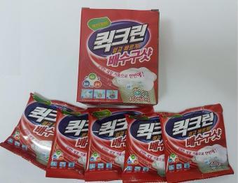 Bột thông tắc bồn cầu siêu mạnh, khử mùi, diệt vi khuẩn Hàn Quốc (Hộp có 5 túi x 40g/túi)