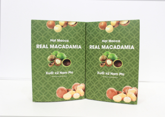 Bộ 2 Hạt Macca Real Macadamia 400G