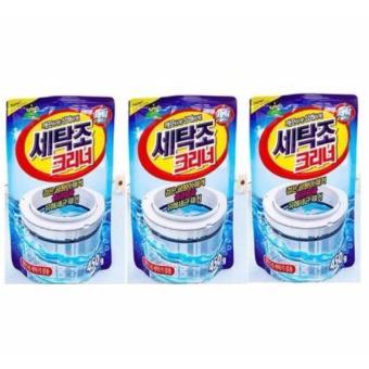 Bộ 3 gói bột tẩy vệ sinh lồng máy giặt 450g cao cấp Hanghot365
