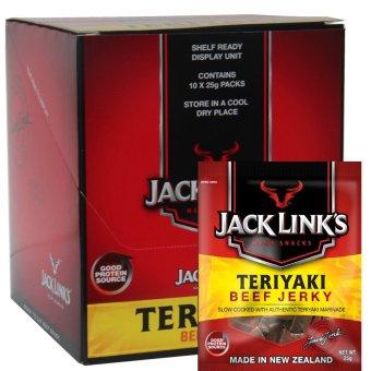 Khô Bò Jack Link'S New Zealand - Vị Teriyaki - Hôp 10 Gói