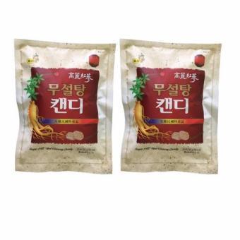 Bộ 2 Kẹo Hồng sâm Hàn Quốc không đường 500g