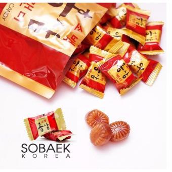 Kẹo Hồng Sâm Nhập Khẩu Hàn Quốc SOBAEK 200g/túi