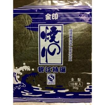 1 lá rong biển cuộn sushi cao cấp nhập khẩu hàn quốc (10 lá)