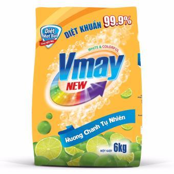 Bột giặt Vmay hương chanh 6.0kg