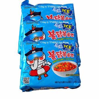 Bộ 3 Mì cay lạnh Samyang gói
