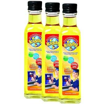 Lô 3 chai dầu ăn Dinh dưỡng cho trẻ em Kiddy 250ml