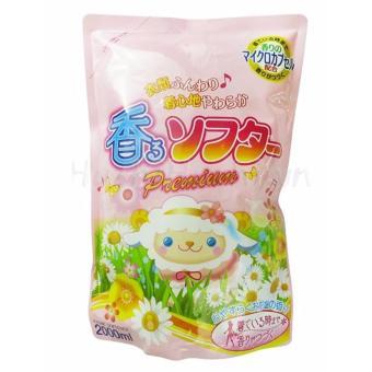 Nước xả mềm vải, khử mùi Premium Nhật 2000ml