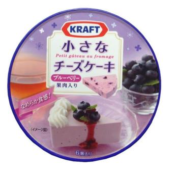 Phô mai Kraft vị việt quất 102g