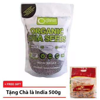Hạt Chia Absolute Organic (Nhập Úc) Tặng 1 Chà Là sấy India 500g