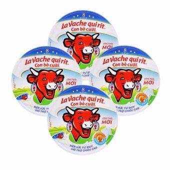 Bộ 4 Hộp Phô mai con bò cười 8 miếng