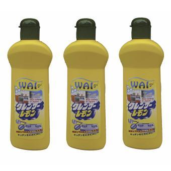 Bộ 3 chai Kem tẩy rửa đa năng cao cấp Nhật Bản Wai màu vàng 400g