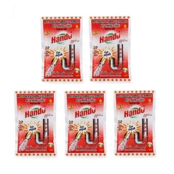 Bộ 5 gói 100g bột thông cống xuất khẩu TI150 (Đỏ)