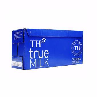 Bộ 12 hộp sữa tươi tiệt trùng TH True Milk có đường 1L