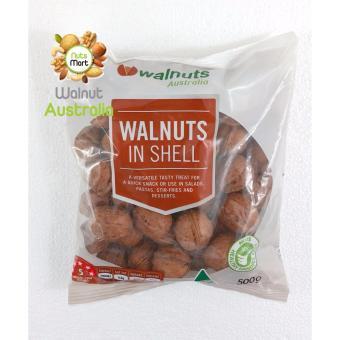 Hạt Óc Chó nguyên vỏ 500g Úc Walnuts in shell