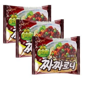 Bộ 3 Mì trộn tương đen Samyang gói